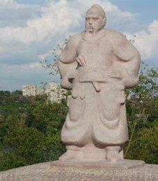В Украине открыт памятник Тарасу Бульбе