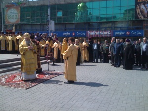 16 мая в Новосибирске крестный ход и молебен открыли мероприятия в честь Дня славянской письменности и культуры